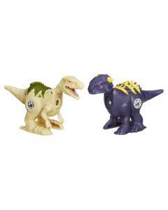 Jurassic Park Brawlasaur Versus Pack - Ankylosaurus vs.Indominus Rex