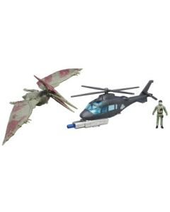 Jurassic Park Capture Vehicle - Pteranodon og Helicopter