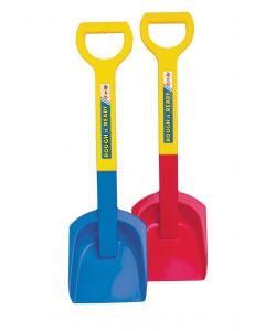 Dantoy blå spade med skaft - 58cm