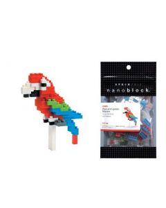 Nanoblock mini papegøye