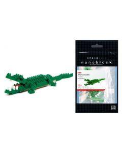 Nanoblock mini krokodille