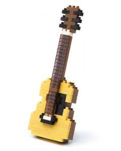 Nanoblock mini akustisk gitar