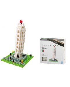 Nanoblock det skjeve tårn i Pisa