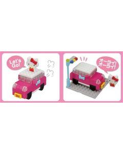 Nanoblock plus Hello Kitty bil