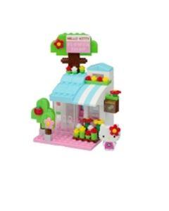 Nanoblock plus Hello Kitty blomsterbutikk
