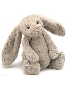 Jellycat beige kanin plysjbamse - 31 cm