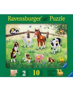 Ravensburger knottepuslespill - dyr