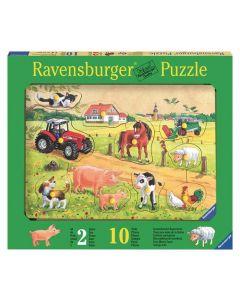 Ravensburger knottepuslespill - bondegård