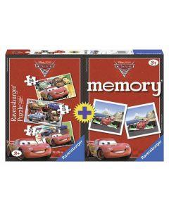 Ravensburger puslespill og memoryspill Disney Cars
