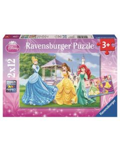Ravensburger puslespill Disney Princess - 2x12