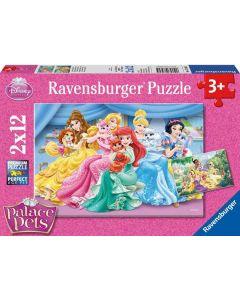 Disney Princess puslespill Disney Princess palace pets - 2x12