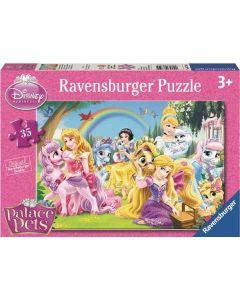 Disney Princess puslespill Disney Princess palace pets - 35 brikker