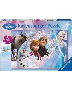 Ravensburger puslespill Disney Frozen - 35 brikker