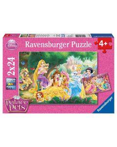 Disney Princess puslespill Disney Princess palace pets - 2x24