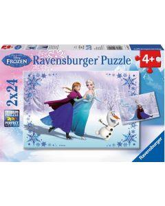 Ravensburger puslespill Disney Frozen - 2x24