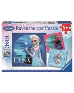 Ravensburger puslespill Disney Frozen - 3x49