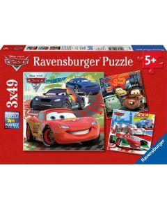 Ravensburger puslespill Disney Cars - 3x49