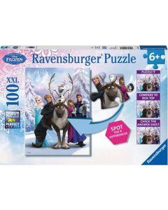Ravensburger puslespill Disney Frozen - 100 biter