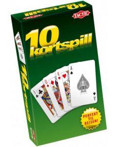 Tactic 10 Kortspill Reisespill