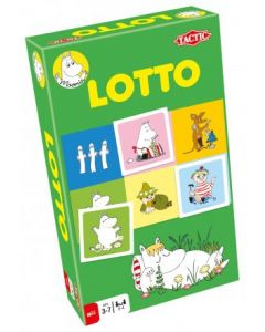 Tactic Moomin Lotto Reisespill