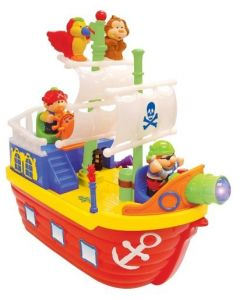 Kiddieland activity pirate ship