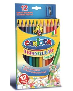 Carioca fargeblyanter 12 stk.