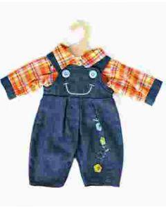 Heless Bukse & Skjorte 35-45 cm - Blå bukse