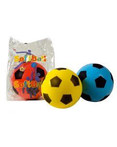 Fotball - soft - assorterte 20 cm