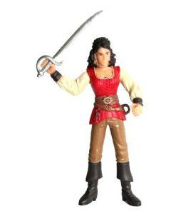 Kaptein Sabeltann Rosa figur