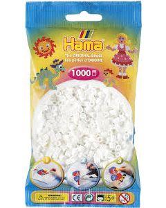 Hama Midi 1000 perler Hvit