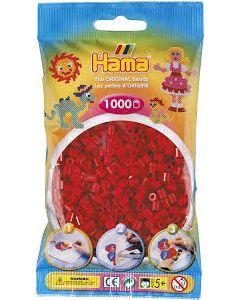 Hama Midi 1000 perler Rød