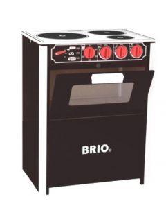BRIO komfyr - svart