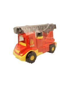 Brannbil med stige og vannslange i plast