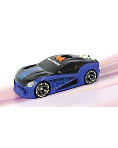 Road Ripper racerbil med jetmotor - blå