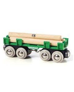BRIO tømmervogn
