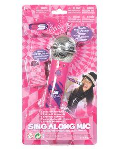 Sing Along Mikrofon - rosa