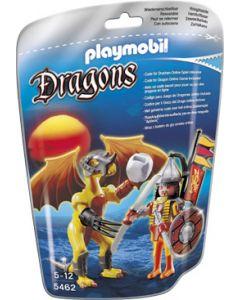 Playmobil steindrage med kriger