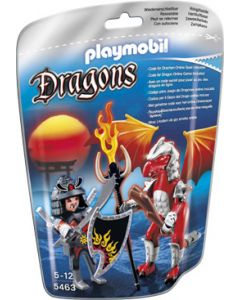 Playmobil ildrage med kriger