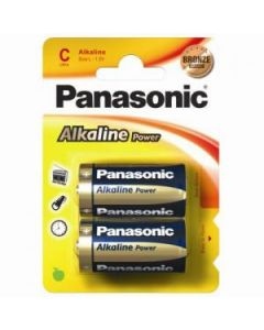 Panasonic C batterier - 2-pack