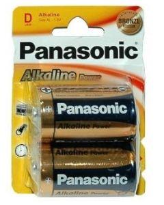 Panasonic D - LR20 batterier