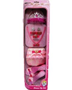 Prinsesse-sett rosa