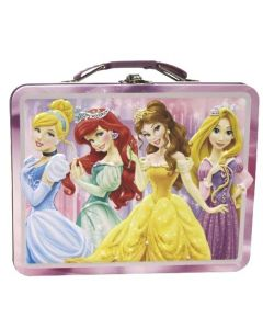 Disney Princess matboks i metall - Lyserosa