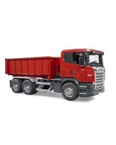 Bruder Scania R-serie lastebil med Roll-Off-Container - 03522