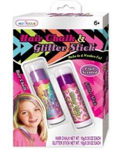 Hår- og Glitter Stick - lilla