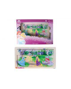 Disney Princess puslespill i tre - 15 biter