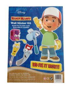 Disney Handy Manny Wall Stickers - klistremerker