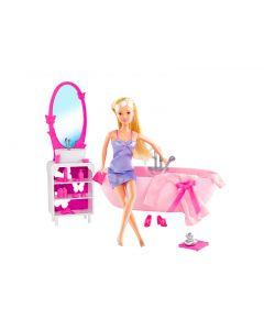 Steffi Love baderomssett med dukke