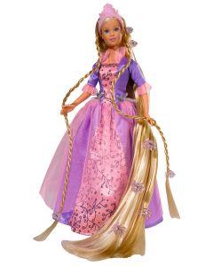 Steffi Love Rapunzel prinsessedukke med børste - lilla