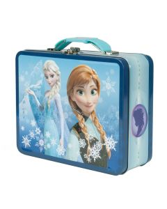 Disney Frozen matboks i metall - blå