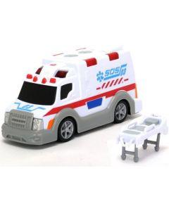 Ambulansebil med båre 13 cm